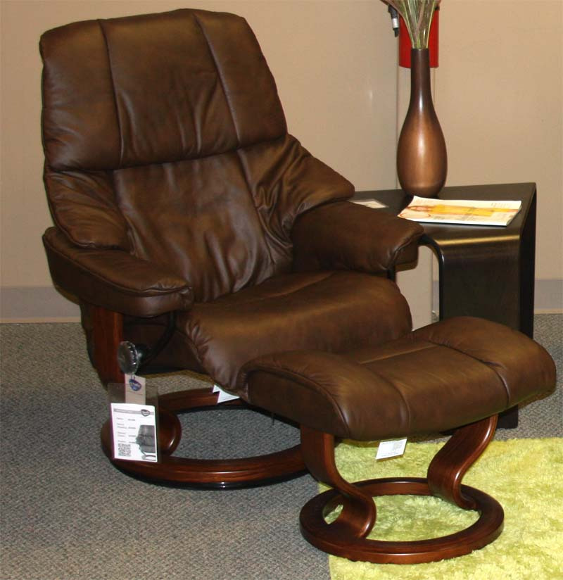Stressless Paloma Chocolate Leather By Ekornes